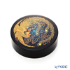 [one-of-a-kind] Wajima Lacquerware 'Phoenix' Round Incense Container 7cm