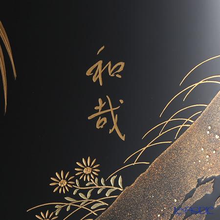 【伝統工芸】輪島塗 尺3飾皿干支酉代田和哉氏作