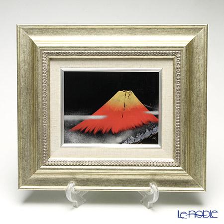 Japanese Lacquerware (Wajima), Picture with frame Mount Fuji Mr. Takeshi Kaji Works