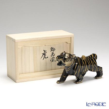 【伝統工芸】輪島塗 干支置物虎(小)