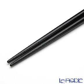 【伝統工芸】輪島塗 干支箸 子(ね)黒(大) 22.5cm