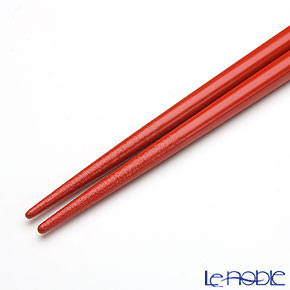 【伝統工芸】輪島塗 干支箸 子(ね)赤(小) 19.5cm