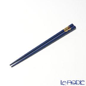 【伝統工芸】輪島塗 干支箸 丑 青(小) 19.5cm