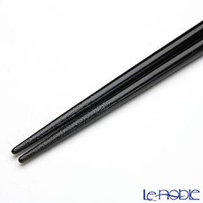 【伝統工芸】輪島塗 干支箸 寅黒(大) 22.5cm