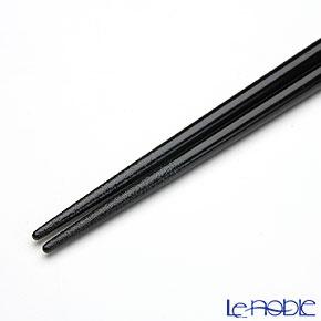 【伝統工芸】輪島塗 干支箸 卯黒(大) 22.5cm