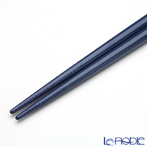 Wajima Lacquerware 'Zodiac - Rabbit' Blue Chopsticks 19.5cm