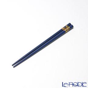 【伝統工芸】輪島塗 干支箸 辰 青(小) 19.5cm