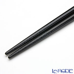 【伝統工芸】輪島塗 干支箸 午黒(大) 22.5cm