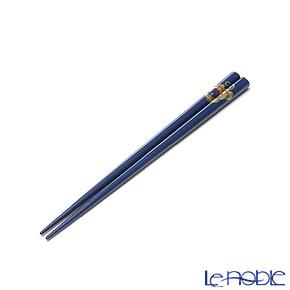 【伝統工芸】輪島塗 干支箸 申 青(小) 19.5cm