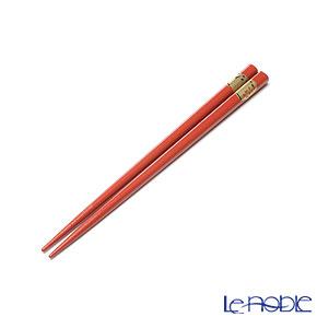 【伝統工芸】輪島塗 干支箸 亥赤(小) 19.5cm