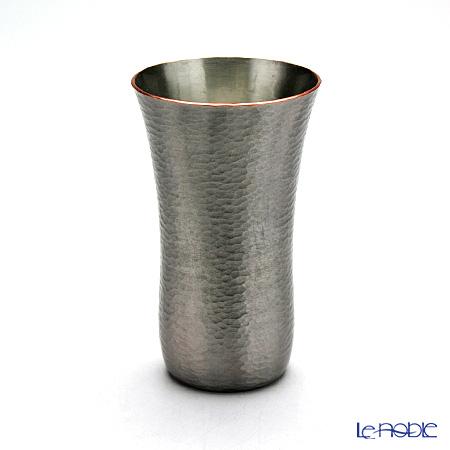 【伝統工芸】燕鎚起銅器(純銅) ビアマグ ゴザ目 Cu-1