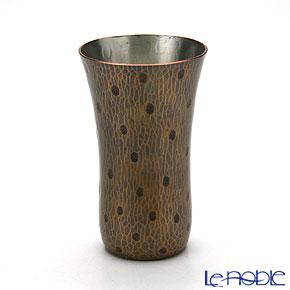 【伝統工芸】燕鎚起銅器(純銅) ビアマグ 玉打 Cu-3