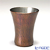 Tsubame Tuiki Copperware 'Hammer Mark - Narashi' Cu-18 Sake Cup 120ml