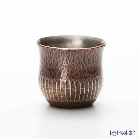 Crafts yan origins of beaten copperware (pure copper) Cup Cu-G-4 80 cc