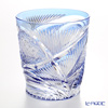Nemoto Glass industrial art Edo kiriko cut glass old Flying Blue * Edo kiriko cut glass craft: Nemoto Tatsuya Mr. works *