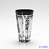 Takumi Cut-Glass Factory / Kiriko Flashed Glass 'Hotaru (Firefly)' Black Tumbler 2004-12-BK 创作萨摩切子 '萤' 黑色 一口高球杯