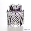 Nemoto Glass Edo kiriko tea heart child low Deep Purple * Edo kiriko cut glass craft: root, Yukio's pieces *
