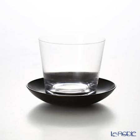 松徳硝子 冷茶器 Muji グラス 180cc 茶托付 1901012