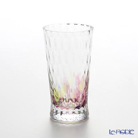 松徳硝子 レインボー 2200413ビアグラス(一口ビールグラス) バイオレット 130cc