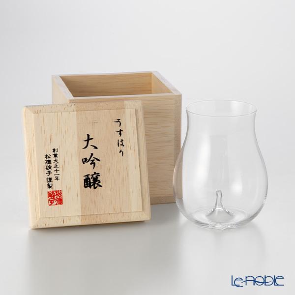 松徳硝子 うすはり 大吟醸 【木箱入】