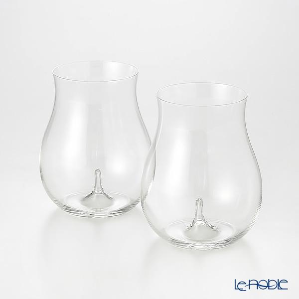 Shotoku Glass 'Usuhari' Daiginjo 250ml (set of 2 with wooden box)