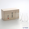 Shotoku Glass 'Usuhari' Daiginjo 250ml (set of 2 with wooden box)