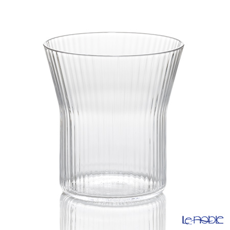 Shotoku Glass 'Katachi. - Stripe' Y-02 Glass 280ml