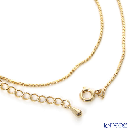 Gold chain 35 cm the adjusters 5cm付.