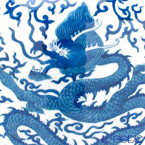 Jingdezhen Porcelain 'Blue & White / Dragon' Covered Vase H41cm (L)