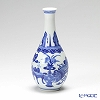 Jingdezhen Porcelain ware (China) Blue and White / BO GU relief / vase (zhan ping) 16 cm