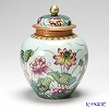 Jingdezhen Porcelain ware (China) Famille rose,Falangcai/Lotus Flower/pot(gai guan) 20.5 cm