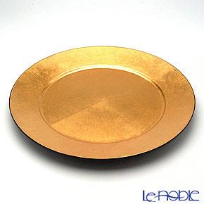 Laque Nouveau charger plate Gold