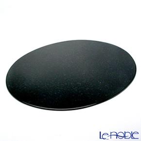 ラックヌーボー マーブルコレクション 楕円型プレースマット(L) ブラック