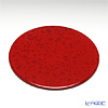 LAQUE NOUVEAU marble collection Red round coaster (flat)