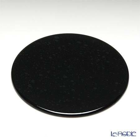 ラックヌーボー マーブルコレクション 丸型コースター(フラット) ブラック