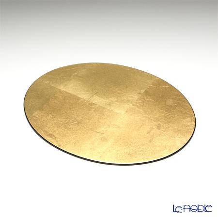ラックヌーボー 楕円型プレースマット(S) ゴールド