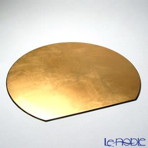 ラックヌーボー 半月型プレースマット(L) ゴールド