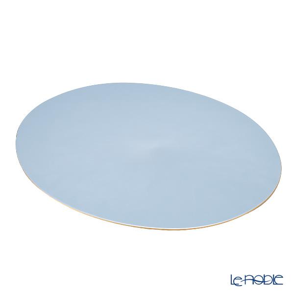 ラックヌーボー 楕円型プレースマット(L) パールブルー