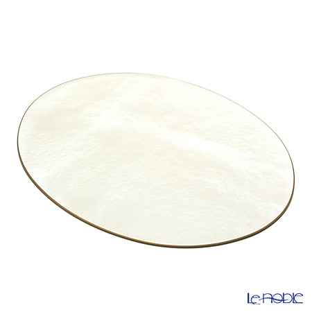 ラックヌーボー 楕円型プレースマット(L) パールホワイト