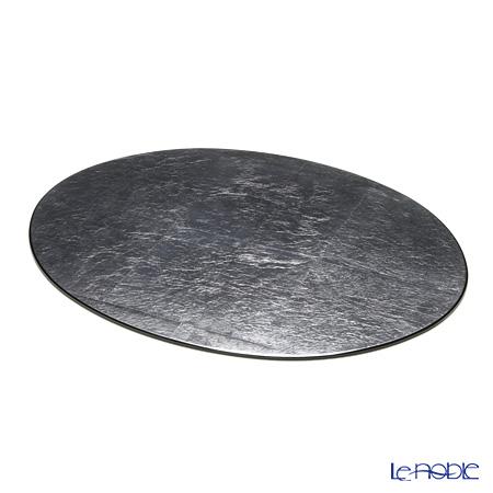 ラックヌーボー 楕円型プレースマット(L) シルバー(銀箔)