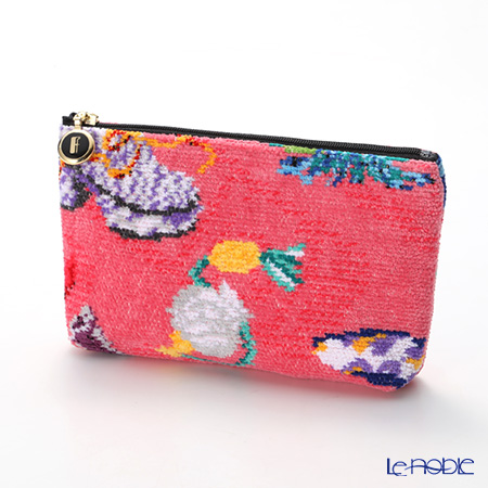Feiler 'Cosas Locas' Pink Cosmetic Pouch 18x9cm