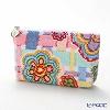 Feiler cosmetic case Happy flower purple 18 x 9 cm