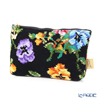 Feiler 'Fatima (Flower) Black' Cosmetic Pouch 17x11.5cm
