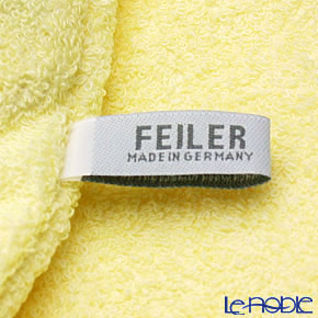 Feiler Baby 'Benjamin' Yellow Swaddle / Hooded Bathtowel 80x80cm