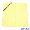 Feiler Baby 'Benjamin' Yellow Swaddle / Hooded Bathtowel 80x80cm