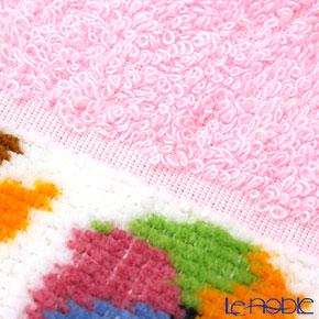 Feiler Baby 'Benjamin' Pink Bib / Burp Cloth