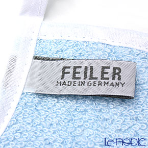 Feiler Baby 'Benjamin' Blue Bib / Burp Cloth
