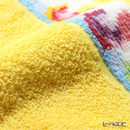 Feiler Baby 'Ducklings' Sun Yellow Handkerchef / Hand Towel 30x30cm