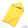Feiler Baby 'Ducklings' Sun Yellow Swaddle / Hooded Bathtowel 80x80cm