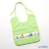 Feiler Baby 'Ducklings' Apple Green Bib / Burp Cloth